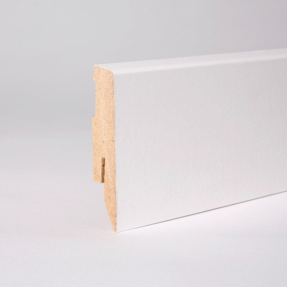 50m Sockelleisten 60mm All Inclusive Paket Reinweiß  BaumarktKundenberichte und weitere Informationen