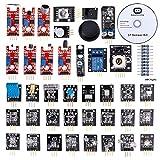 RobotLinking 37-in-1 Sensor Module Kit for Arduino UNO R3 Mega2560 Mega328 Nano