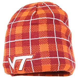 Adidas Virginia Tech Hokies Reversible Winter Knit Hat Beanie by adidas