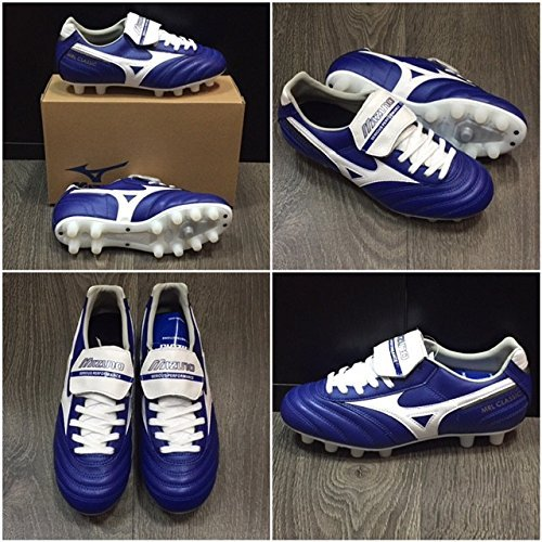 Mizuno MRL CLASSIC MD SCARPE CALCIO SHOES FOOTBALL UOMO MAN (blue/white) P1GA160522 - 42 - 27cm - UK 8 - US 9