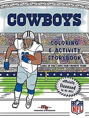 Dallas Cowboys Coloring & Activity Storybook