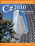 img - for C# 2010 for Programmers (4th Edition) (Deitel Developer Series) book / textbook / text book
