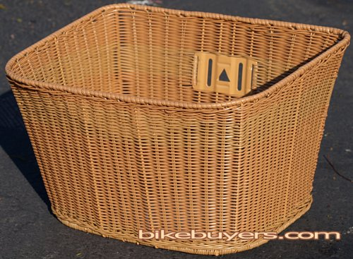 Fito Full Size PE Wicker Mounting Basket, Dark Brown, High Quality Made in Taiwan, 14.5