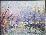 Notre-Dame-de-la-Garde (La Bonne-Mère) Marseilles Poster Print by Paul Signac (French Paris 1863-1935 Paris) (18 x 24)