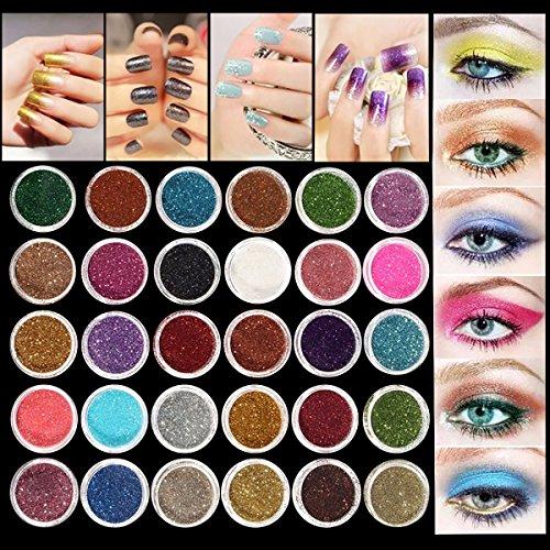 luckyfine-30pcs-set-colors-mixed-glitter-loose-powder-eyeshadow-eye-shadow-cosmetics-salon-random-co