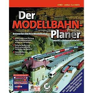 Der Modellbahn-Planer, Entwerfen Sie Ihre Modellbahn am PC, fotorealistisch, 1 CD-ROM in Jewelcase Für Windows 95/98. Maßstabgetreue Planung Ihrer Modelleisenbahnanlage am Computer. Einfache Bedienung durch automat. Verbinden d. Bauteile