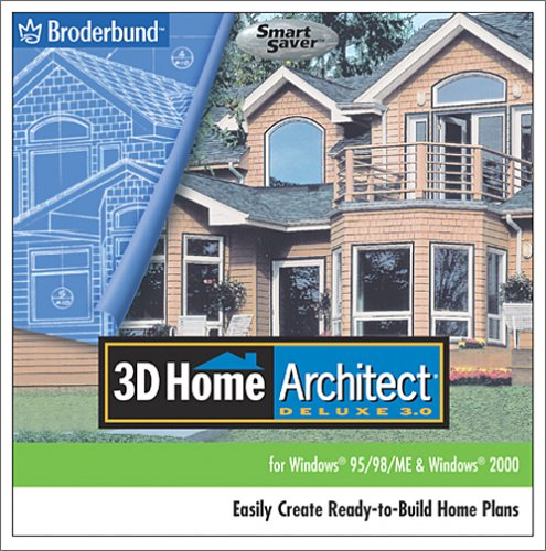 3d home architect deluxe 3 jewel case oydeals for Home architect design software free download