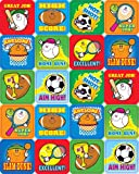 Carson Dellosa Sports Motivational Stickers (0636)
