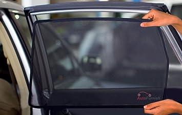 Autofurnish Magnetic Zipper Sun Shades Car Curtains For Hyundai XCent (4  Pcs.)