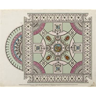 Greetings Card: 'Ceiling Design for Bolton House' by Robert Office