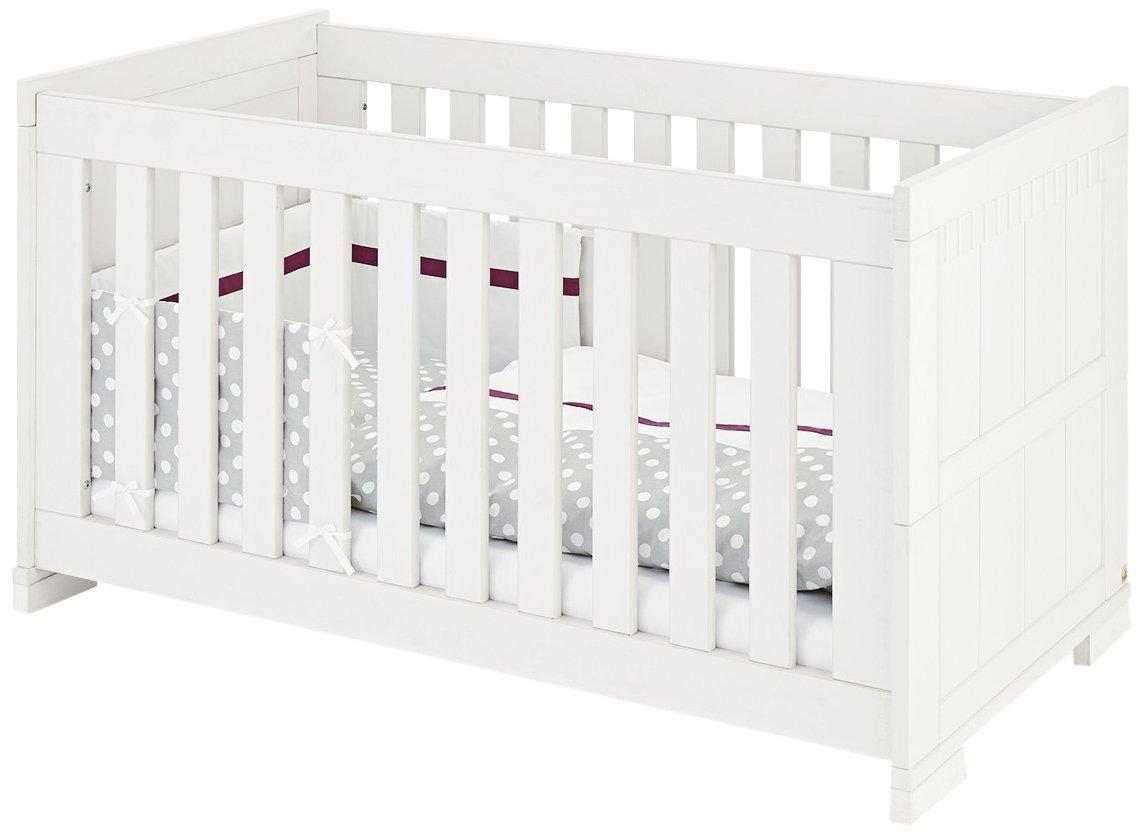 Pinolino 110041 Kinderbett Skrollan Beschichtet MDF, weiß mit Holzmaserung jetzt bestellen