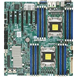 Supermicro X9DRH-IF-O Dual LGA2011/ Intel C602/ DDR3/ SATA3/ V&2GbE/ EATX Server Motherboard