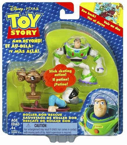 Buy Low Price Hasbro Toy Story Adventure Pack Roller Bob Rescue Figure (B000EZ8F4Y)