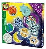 SES Deutschland 06105 - Bügelperlenset Sterne im dunkeln leuchtend von SES creative