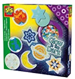 SES Creative Children's Iron on Beads Glow In The Dark