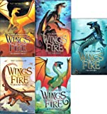 img - for Wings of Fire 5 Book Set: Wings of Fire Book One: The Dragonet Prophecy / Wings of Fire Book Two: The Lost Heir / Wings of Fire Book Three: The Hidden Kingdom / Wings of Fire Book Four: The Dark Secret / Wings of Fire Book 5 / The Brightest Night book / textbook / text book