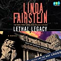 Lethal Legacy Audiobook by Linda Fairstein Narrated by Barbara Rosenblat