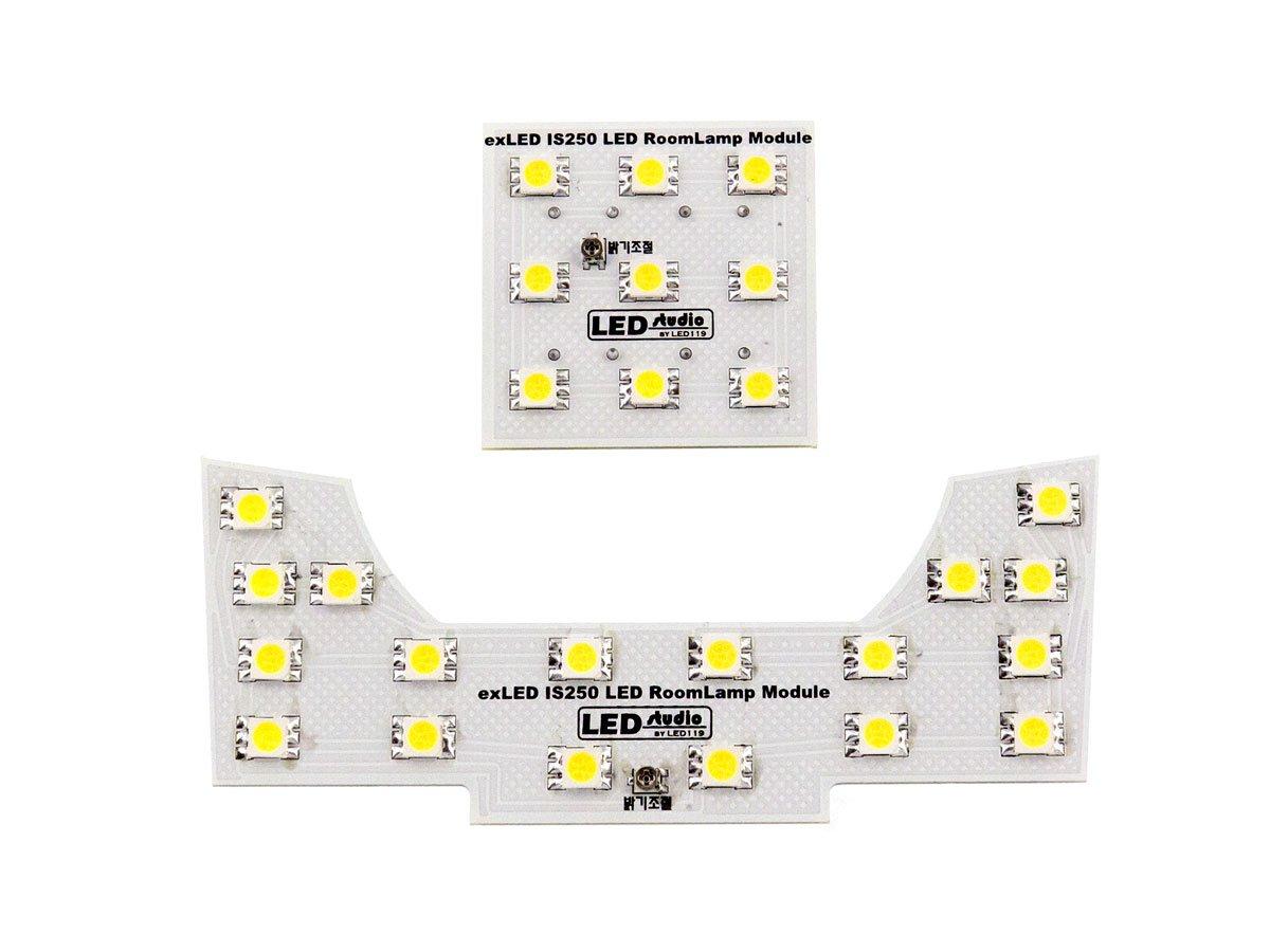Авто свет exLED Custom Interior LED Lights Kit Lexus IS250 IS350 ISF (Map, Dome)