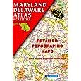 Maryland Delaware Atlas & Gazetteer (State Atlas & Gazetteer)