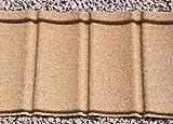 Plastic Roofing Tiles; diy, Ideal for Conservatories, Sheds, Log Cabins (Barley Straw)