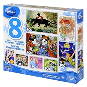 8-in-1 Disney Multipacks Box Puzzles Assortment