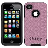 Otterbox Commuter Victorian Pattern Lavender Case for Apple iPhone 4