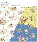 moda fabrics 【30cm以上】Moda 春らしい色合いで使いやすい中花のプリント生地★◆モダの布地 【モーダ】【輸入生地】【USAコットン】【手芸の柳屋】 13 グリーン系