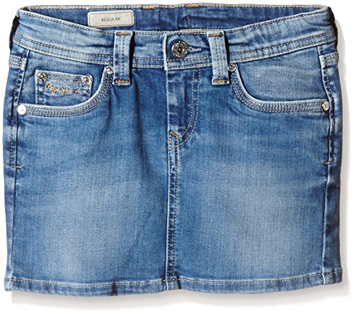 Pepe Jeans Luna-Gonna Bambina    Blu (Denim) 12 anni