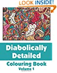 Diabolically Detailed Colouring Book...