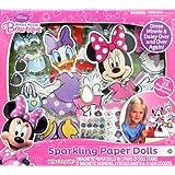 Tara Toy Minnie Sparkle Paper Dolls Activity Playset