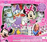 Tara Toy Minnie Sparkle Paper Dolls Activity Playset