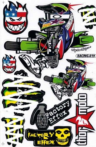 Наклейки для мотоцикла своими руками