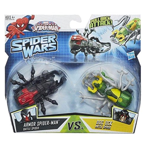 Marvel Ultimate Spider-Man Spider Wars Battle Pack: Armor Spider-Man VS Doc Ock