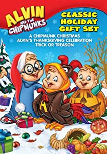 Alvin and the Chipmunks: Holiday Gift Set (3 DVDs)