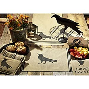 Amazoncom IHF Home Decor New Table Olde Crow Design 100