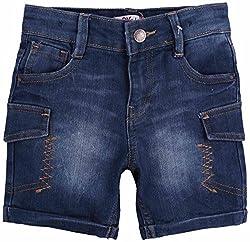 Oye Boys Roll-Up Shorts - Blue (3-4 Y)