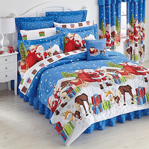 Christmas Bedspreads And Comforters front-1078213