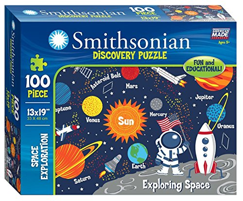 Smithsonian 100-piece Space Exploration Discovery Puzzle (Smithsonian Motor compare prices)