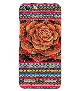 PrintDhaba Flower D-3610 Back Case Cover for LENOVO LEMON 3 (Multi-Coloured)