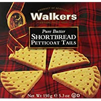 6-Pack Walkers Shortbread Petticoat Tails 5.3-Ounce Boxes