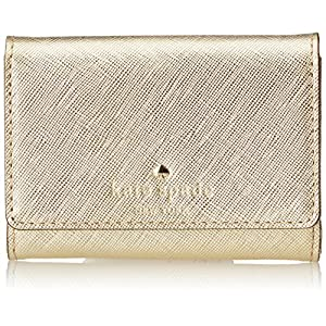 kate spade new york Cedar Street Darla Wallet, Gold, One Size