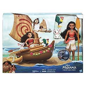 Disney Moana Starlight Canoe and Friends by Hasbro - Import