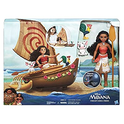 Disney Moana Starlight Canoe and Friends by Hasbro - Import