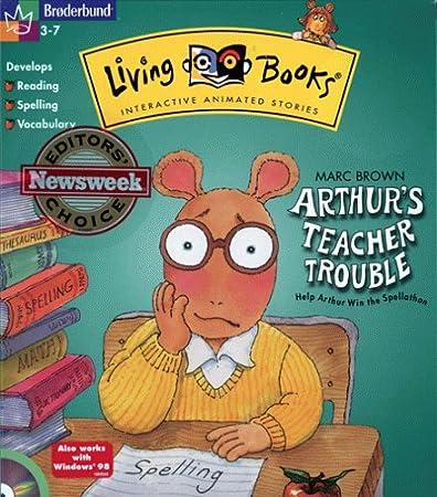 Arthur's Teacher Trouble (Jewel Case)
