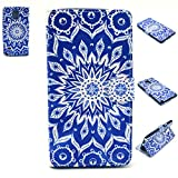 Galaxy Note 4 Wallet Case,Flip Case,Nancy's Shop Premium Wallet Pu Leather [Stand Function Feature] Type Magnet Design Flip Protective Credit Card Holder Pouch Skin Case Cover for Samsung Galaxy Note 4 SM-N910 (Blue Sun Flowers)