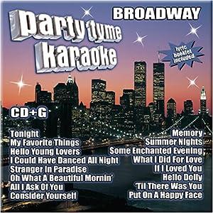 karaoke cd broadway: