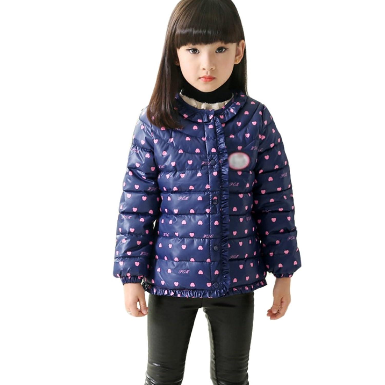 ipretty Mädchen Down Jacket verdickte Winterjacke Mädchen Mantel verdickte Parka Mädchen Trenchcoat Outerwear bestellen