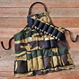 "Personalized ""Grill Sergeant"" Apron and Beer Holder"
