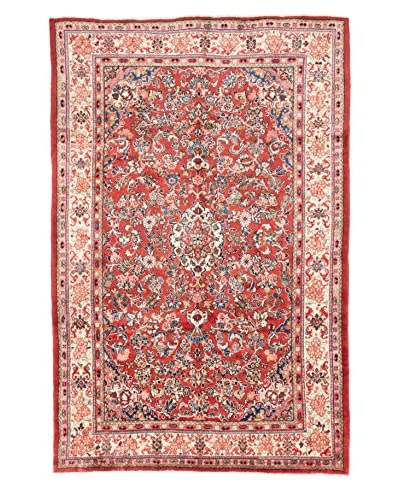 eCarpet Gallery One-of-a-Kind Hand-Knotted Mahal Rug, Burned Orange, 6' 10 x 10' 3