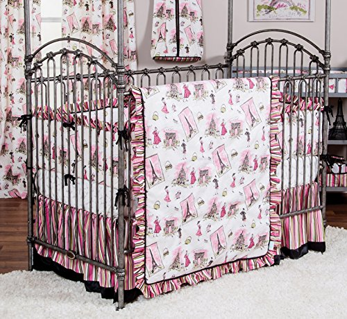 Trend Lab Waverly Tres Chic 3 Piece Crib Bedding Set
